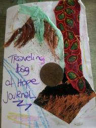 journal from travilingbag of hope